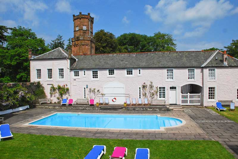 Gelston castle holidays self catering cottages scotland - Scotland holiday homes with swimming pool ...